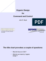 Organic Design for command and control