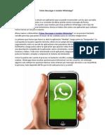 Como Descargar e Instalar WhatsApp