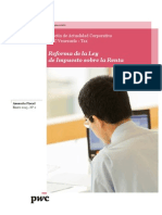 Boletín Actualidad Corporativa N° 2 - Reforma de La Ley de Impuesto sobre La Renta