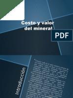 Costo y valorización del mineral.pptx