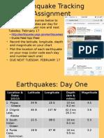 earthquaketrack