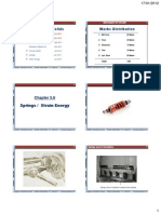 Chapter 5 and 6 Springs Strain Energy 6 Per Page