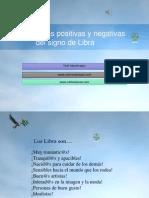 Características Positivas y Negativas Del Signo de Libra