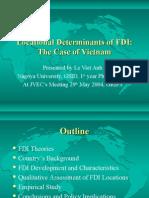 Nhan to Tac Dong Fdi Viet Nam