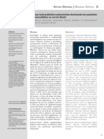 Doença Renal Policística Autossômica Dominante Em Pacientes Em Hemodiálise No Sul Do Brasil