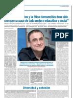 Ramón Flecha - Entrevista en ESCUELA (1)