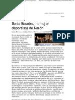 Gala del Deporte de Narón 2008 (La Voz de Galicia)