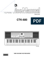 Casio CTK680 Service Manual