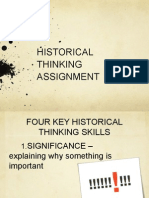 chc ppt - historical inquiry concepts examples