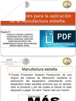 1er Nivel de Lean Manufactury