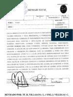 Comunicacion de Va Clemente Antonio Diaz
