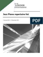 Jazz Piano LCM 2015