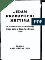 Carl Gustav Jung-Sedam Propovijedi Mrtvima