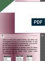 presentación curso access capítulo 3