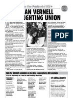 Vote Sean Vernell for a Fighting Union