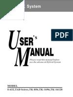 TAD,TK Series PBX Operate Manual.pdf