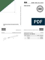 Atlas Copco 658 Rock Drill Side Bolt Kit