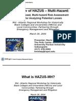 3.HAZUS Overview