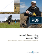 Metal Detecting Yes or No - National Museums of Scotland