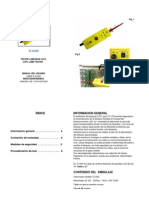 Manual Probador Lamparas CCFL
