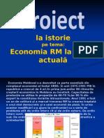 Economia Republicii Moldova La Etapa Actuala