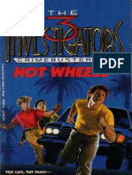 The Three Investigators Crime Busters #1 Hot Wheels