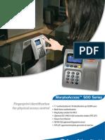 Fingerprint and Card Reader