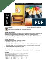 interior design course disclosure