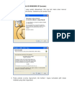 Instalasi Grass GIS Di Windows Xp