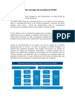 El Modelo Europeo de Excelencia EFQM