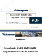 Supervision NTCSE Calidad Producto
