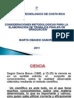 Consideraciones Metodológicas Febrero 2011 Versión 97-2003