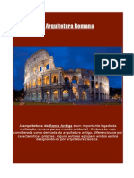 A Arquitetura Romana