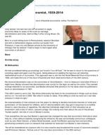 Ft.com-Gary Becker US Economist 19302014