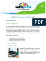 Curso basico  sublimacion Subliprint