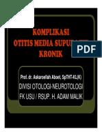 PPT Otitis Media Supuratif Kronik