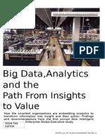 Big Data, Analytics