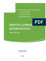 Dreptul cometului international