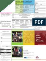 KCCD Donor Advisory Board Brochure