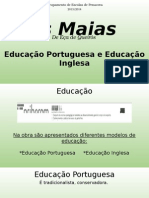 Português - Os Maias (Educação)