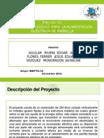 Generador Eolico Para Aliementar Parrilla TRADUCCION en INGLES