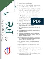 Los Catorce Puntos de La Decalración de Fe