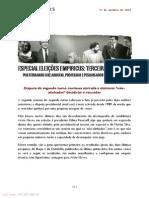 Especial Eleicoes Fernando Abrucio Terceira Edicao