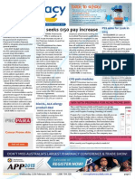 Pharmacy Daily for Wed 11 Feb 2015 - PPA seeks pay increases, PSA