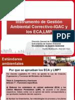 ECAs y LMP