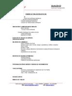 Temario Actualizacion AutoCAD