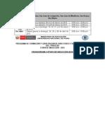 "Cronograma Etapa de Inducciã""n 2015"
