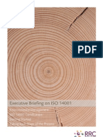 ISO 14001 Executive Briefing