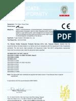 C33 CE EMC Certificate