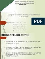 A ORIGEM DA FAMÍLIA DO ESTADO E PODER PRIVADO